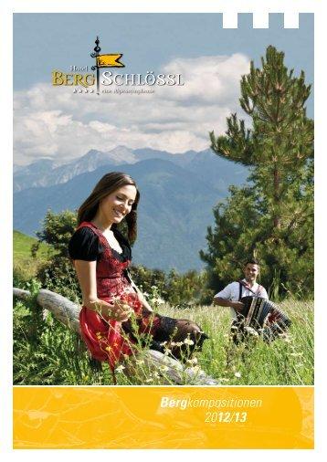 Prospekt downloaden - Hotel Bergschlössl