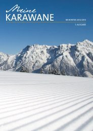 Meine Karawane Winter 2012/2013 - Hotel Alpen-Karawanserai