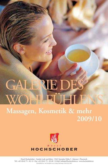 GALERIE DES WOHLFÜHLENS