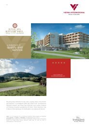 "Das Royal Spa Kitzbühel ist das erste ""Leading Hotel of the World ..."