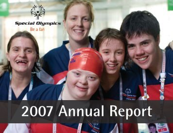 2007 Annual Report - Special Olympics