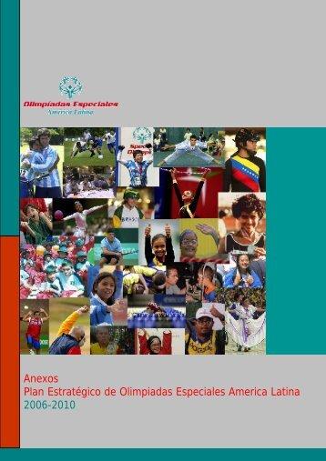 Anexos Plan Estratégico de Olimpiadas ... - Special Olympics