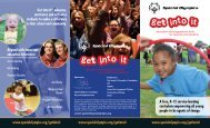 What is Get Into It - Special Olympics