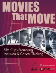 Movies that Move - Film Clips for Character Education