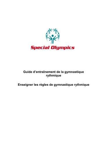 Bienvenue dans le monde de la gymnastique ... - Special Olympics