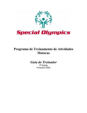 Programa de Treinamento de Atividades Motoras ... - Special Olympics