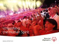 2011 - Special Olympics