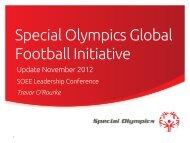 Special Olympics Global Football Initiative (PDF)