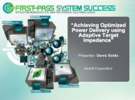 Achieving Optimized Power Delivery using Adaptive Target ...