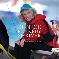 EUNICE - Special Olympics