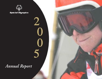 2005 Annual Report - Special Olympics