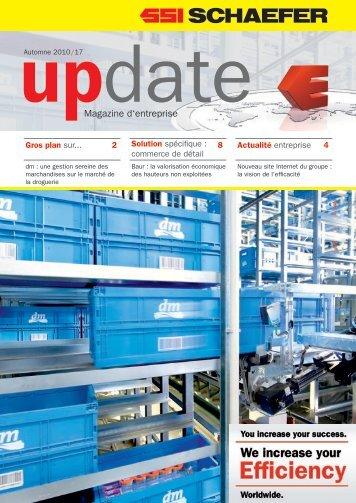 Magazine d'entreprise - SSI Schäfer