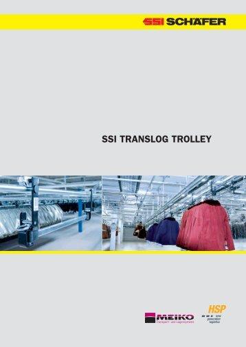 SSI TRANSLOG TROLLEY - SSI Schäfer