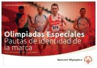 Nuestra marca - Special Olympics