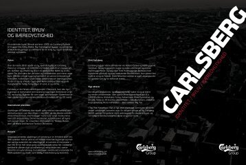 Download folder/kort over Carlsberg-byen - Dansehallerne