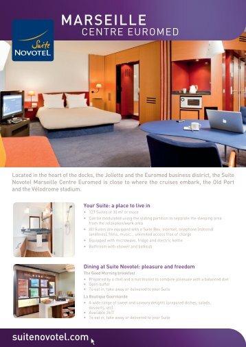 MARSEILLE - Suite Novotel hotels