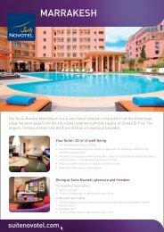 MARRAKESH - Suite Novotel hotels