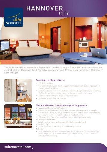 HANNOVER - Suite Novotel hotels
