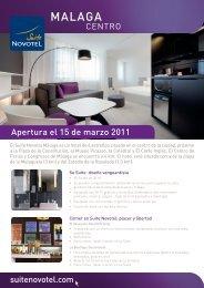 MALAGA - Suite Novotel hotels