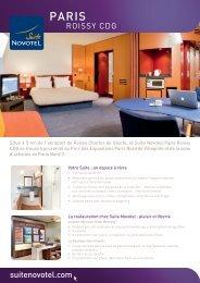 suitenovotel.com ROISSY CDG - Suite Novotel hotels
