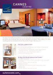 CANNES - Suite Novotel hotels