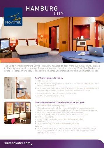 HAMBURG - Suite Novotel hotels