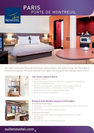 Paris - Suite Novotel