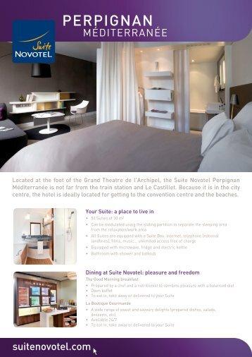 PERPIGNAN - Suite Novotel hotels