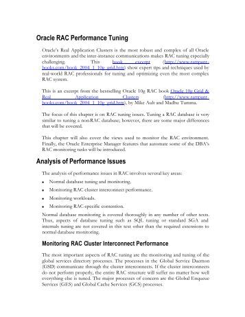 oracle database performance tuning case study Case studies, and more from datavail's collection of database resources database performance tuning and health checks and database support for oracle.