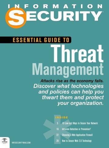 Threat Management - TechTarget