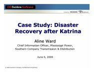 Case Study: Disaster Recovery after Katrina - TechTarget