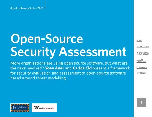 Open-Source Security Assessment