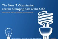 role of the CIO - TechTarget