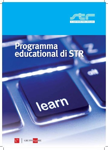 Programma educational di STR - Teknoring