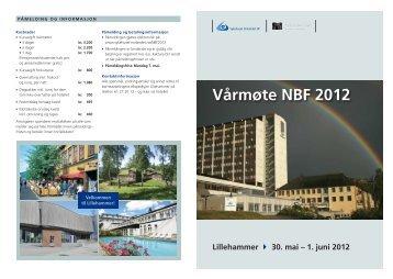 Vårmøte NBF 2012 - Sykehuset Innlandet HF