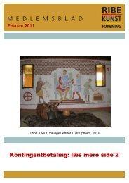 Kontingentbetaling: læs mere side 2 - Ribe Kunstforening