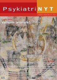 PsykiatriNyt nr. 2, december 2003 - Dansk Psykiatrisk Selskab