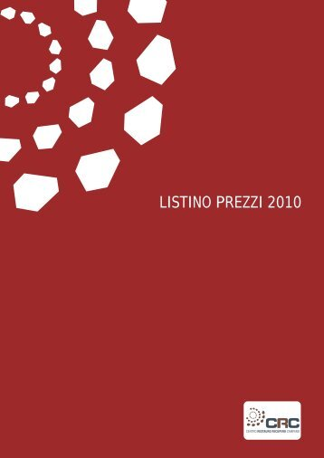 listino ufficiale 2010 - Teknoring