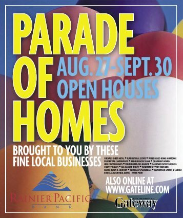 PARADE OF HOMES PAGES 2008.indd - The News Tribune
