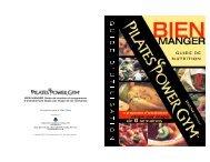 BIEN MANGER Guide de nutrition et programme d'entraînement ...