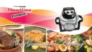 New Generation in Cooking - Thane International, Inc.
