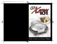 GTXpressENGLISHmanualThane.qxd 3/7/06 3:47 PM Page 1