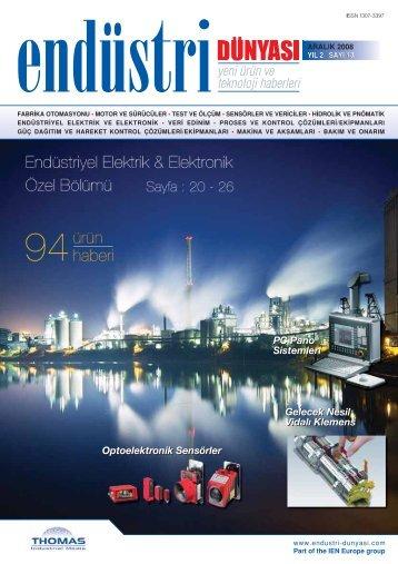 Endüstriyel elektrik & elektronik - Thomas Industrial Media