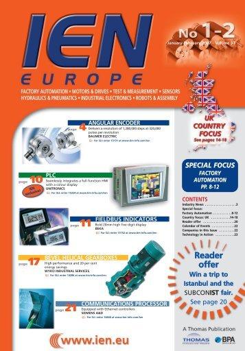 Reader offer - Thomas Industrial Media
