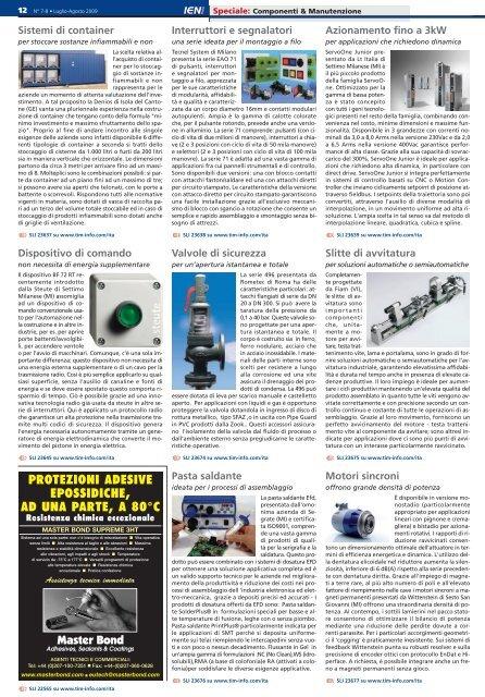 Leggi tutto - Thomas Industrial Media