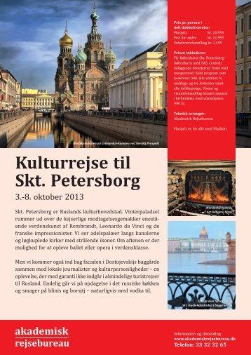 Kulturrejse til Skt. Petersborg - Politiken Plus