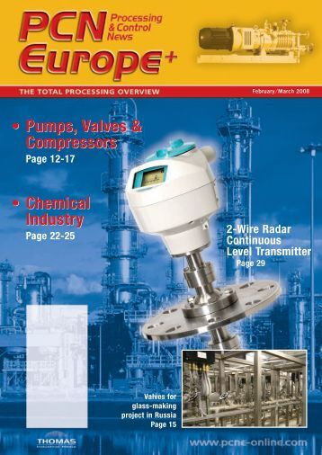 Pumps, Valves & Compressors • Pumps, Valves & Compressors ...