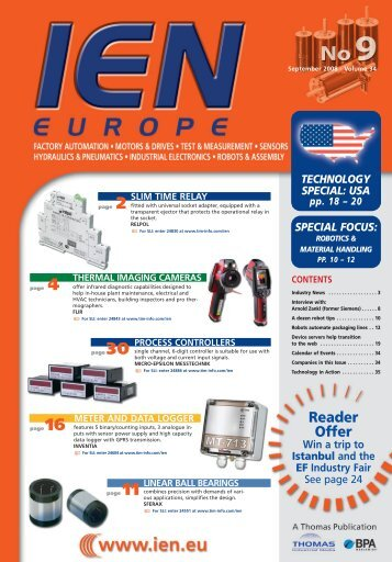 Reader Offer - Thomas Industrial Media
