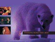 Årsberetning 1999-2000 - Naturhistorisk Museum