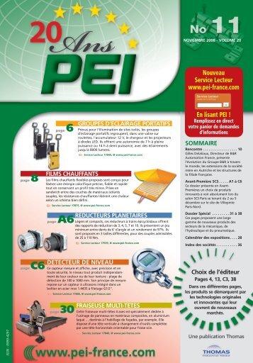 pei produits - Thomas Industrial Media